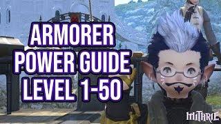 FFXIV 3.0 0761 Armorer 1-50 (Powerlevel Guide)