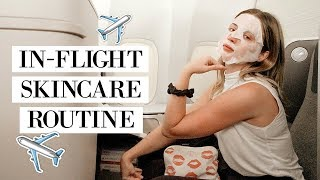 AIRPLANE SKINCARE ROUTINE & Why You Need One ✈️