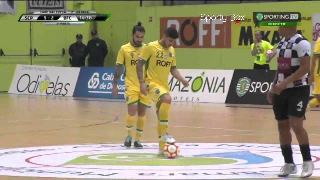 Futsal :: 17J :: Sporting - 8 x Boavista - 3 de 2014/2015
