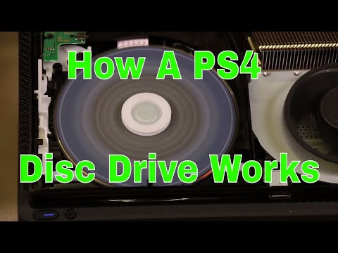How a PS4 Disc Drive Works - Very Detailed