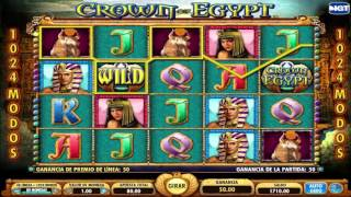 Free Crown Of Egypt Slot Machine By Igt Gameplay ★ Slotsup