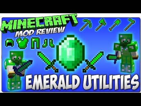 Emerald utilities mod armas armaduras y herramientas de esmeralda
