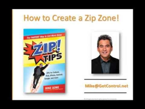 Get Organized: How to Create a Zip! Zone
