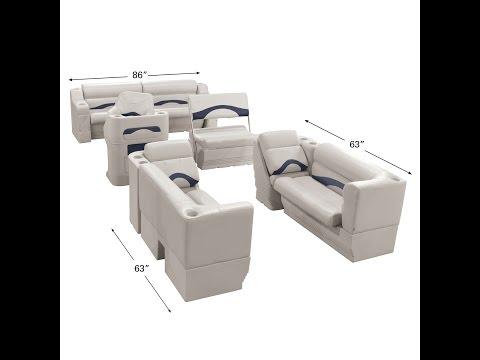 Toonmate Premium Pontoon Seats | Overton's