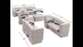 Toonmate Premium Pontoon Seats | Overton