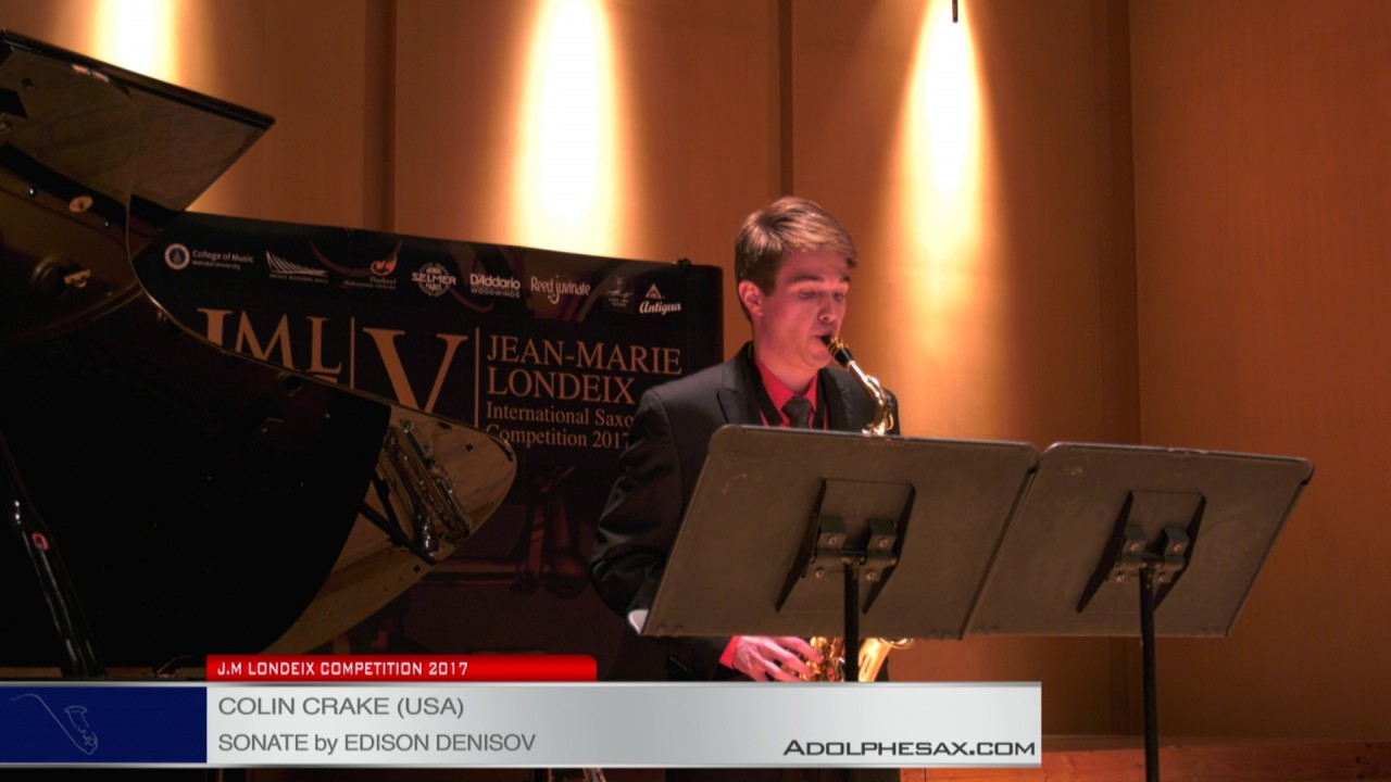 Londeix 2017 – Semifinal – Colin Crake (USA) – Sonate by Edison Denisov