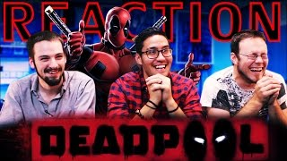 Deadpool Red Band Trailer REACTION!!