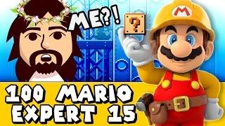 Super Mario Maker: Jesus Take The Wheel (Expert #15)