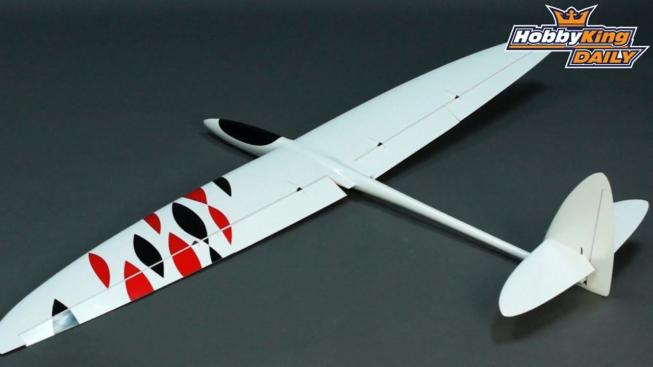 HobbyKing Daily - Sunbird Composite Glider - YouTube