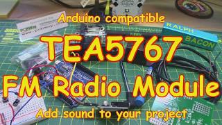 #130 TEA5767 FM Radio  Module for your Arduino (Cheap!)