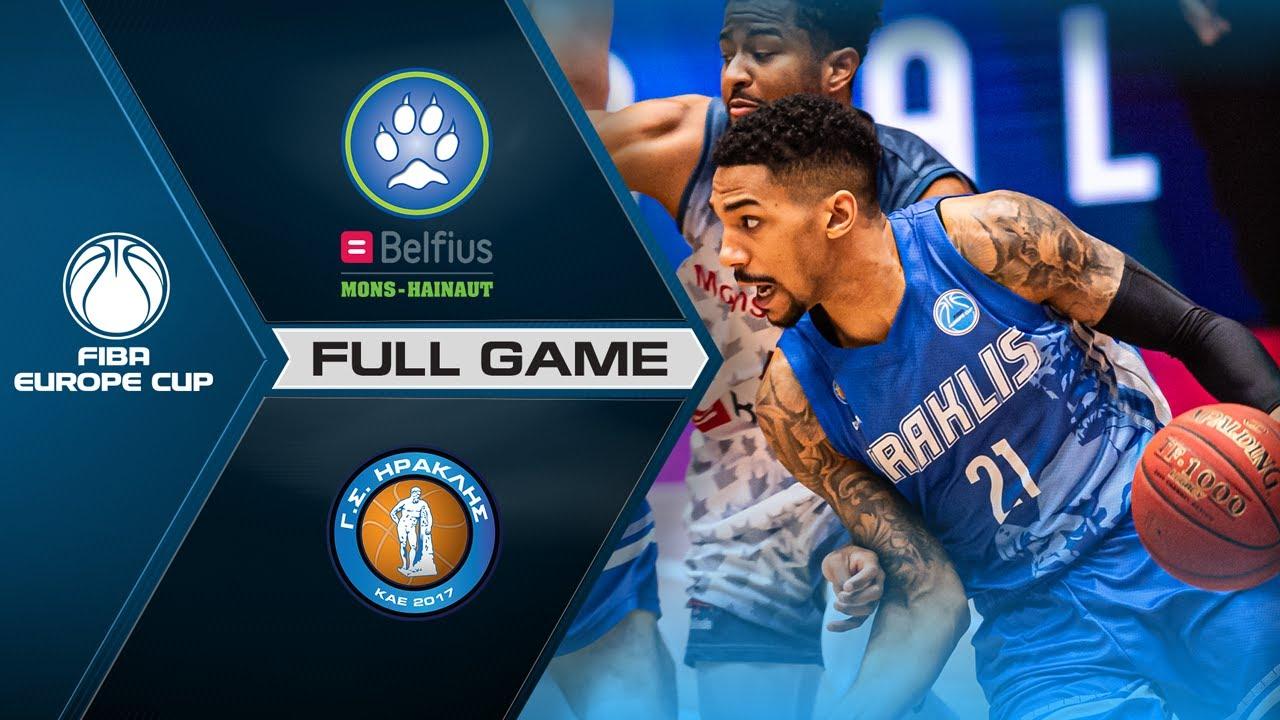 Belfius Mons-Hainaut v Iraklis BC | Full Game - FIBA Europe Cup 2020-21