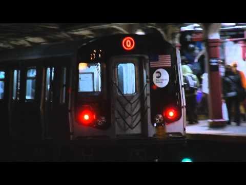 MTA New York City Subway : B Express & Q Train Action @ Parkside Avenue Station