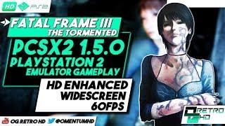 Fatal Frame III: The Tormented | PCSX2 v1.5.0 - PS2 Emulator PC Gameplay | HD - 60ᶠᵖˢ
