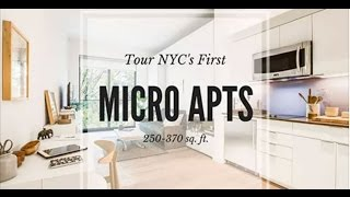 See inside NYC's first micro apartment building