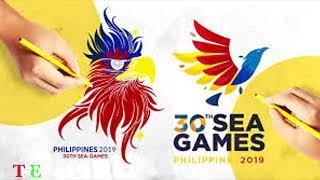 SEA Games  Logo- Philippines 2019 30th Southeast Asian Games #WEWINASONE  #SeaGames2019