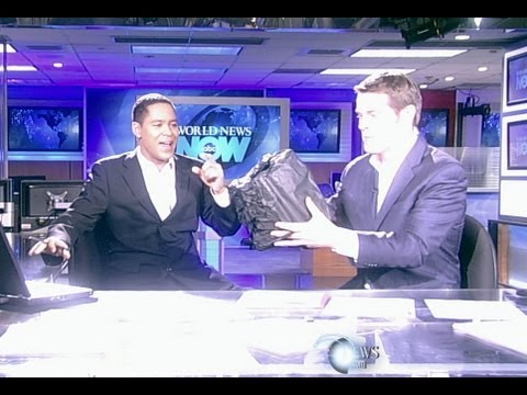 Anchors Survive Meteor in the ABC News Studios