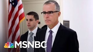 Attorney General Jeff Sessions Fires Andrew McCabe | The Last Word | MSNBC