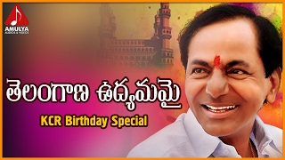 Telangana CM KCR Birthday Special Song | Telangana Udhyamamayi song  | Amulya Audios And Videos