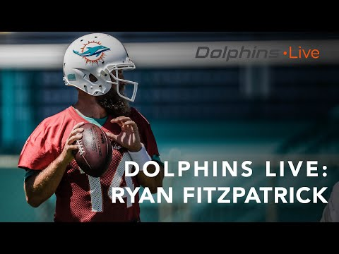 Carmine - Dolphins QB Ryan Fitzpatrick Blames Being Out Of Shape On Birthday Cake