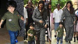 Taimur And Kareena Kapoor Attend Birthday Party At See Princess
