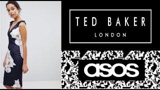 Ted Baker Распаковка с примеркой платья с сайта ASOS