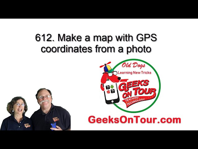 How Do I Make a Custom Map Using GPS? Tutorial Video 612