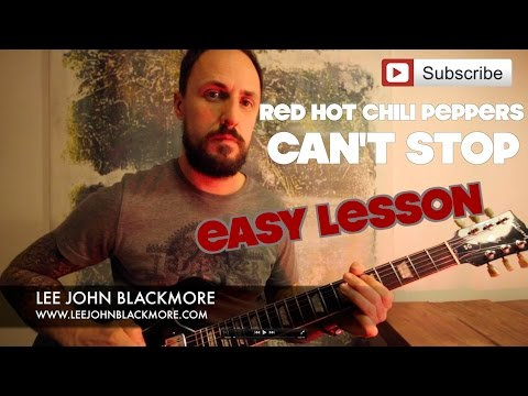 Easy Guitar Lesson | Red Hot Chili Peppers | Can't Stop | Super Easy Guitar
