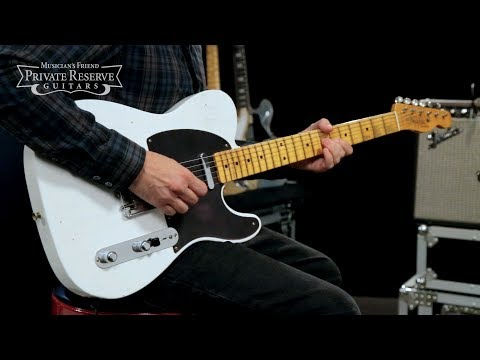 Fender Custom Shop NAMM Limited Edition Black Anodized Journeyman Relic Telecaster Electric Guitar