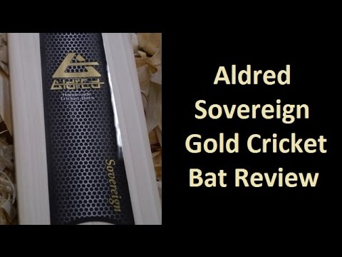 Aldred Sovereign Gold Cricket Bat Review