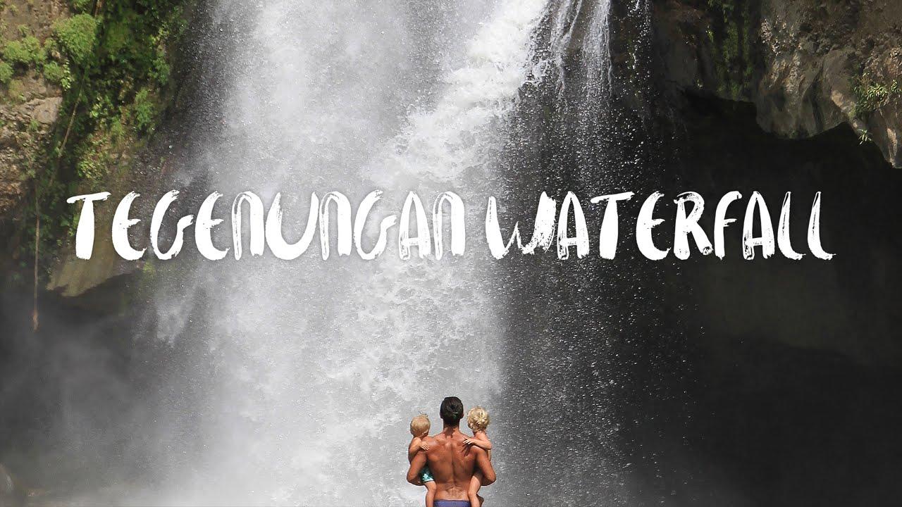 Tegenungan Waterfall Ubud Bali Indonesia The