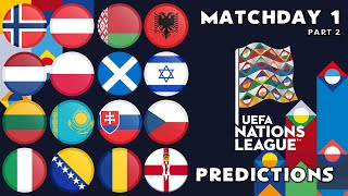Digicass Predicts Uefa Nations League Matchday 1 Part 1
