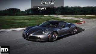 Hot News !!! Alfa Romeo 4C Competizione and Italia SPEC & PRICE