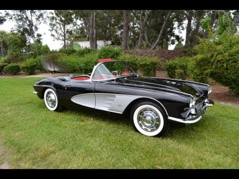 1961 Corvette For Sale >> SOLD - 1961 Black Corvette Convertible for sale by Corvette Mike Anaheim California - YouTube