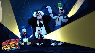 Goof Mansion Sneak Peek 🎃 | Mickey and the Roadster Racers | Disney Junior