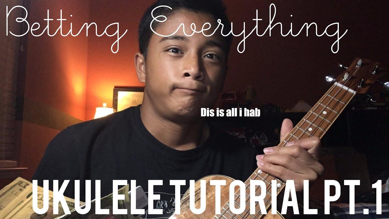 Ukulele Tutorial Pt1betting Everythingchords And Strumming Youtube