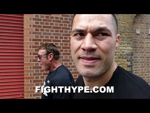"JOSEPH PARKER REACTS TO DILLIAN WHYTE PATTING HIS FACE; EXPLAINS NEW ""MONGREL"" ATTITUDE TO HURT HIM"