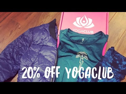 YogaClub Discount Code, Unboxing and Exciting News!