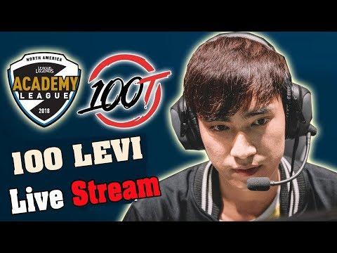 🔴 100T Levi Top 1 Thách đấu Bắc Mĩ - 19/4/2018 - Ủng hộ Levi nào anh em
