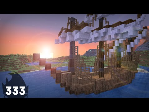 Minecraft Building w/ BdoubleO :: Trader Ship! :: ep 333