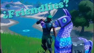 ¿Friendlies en Fortnite?
