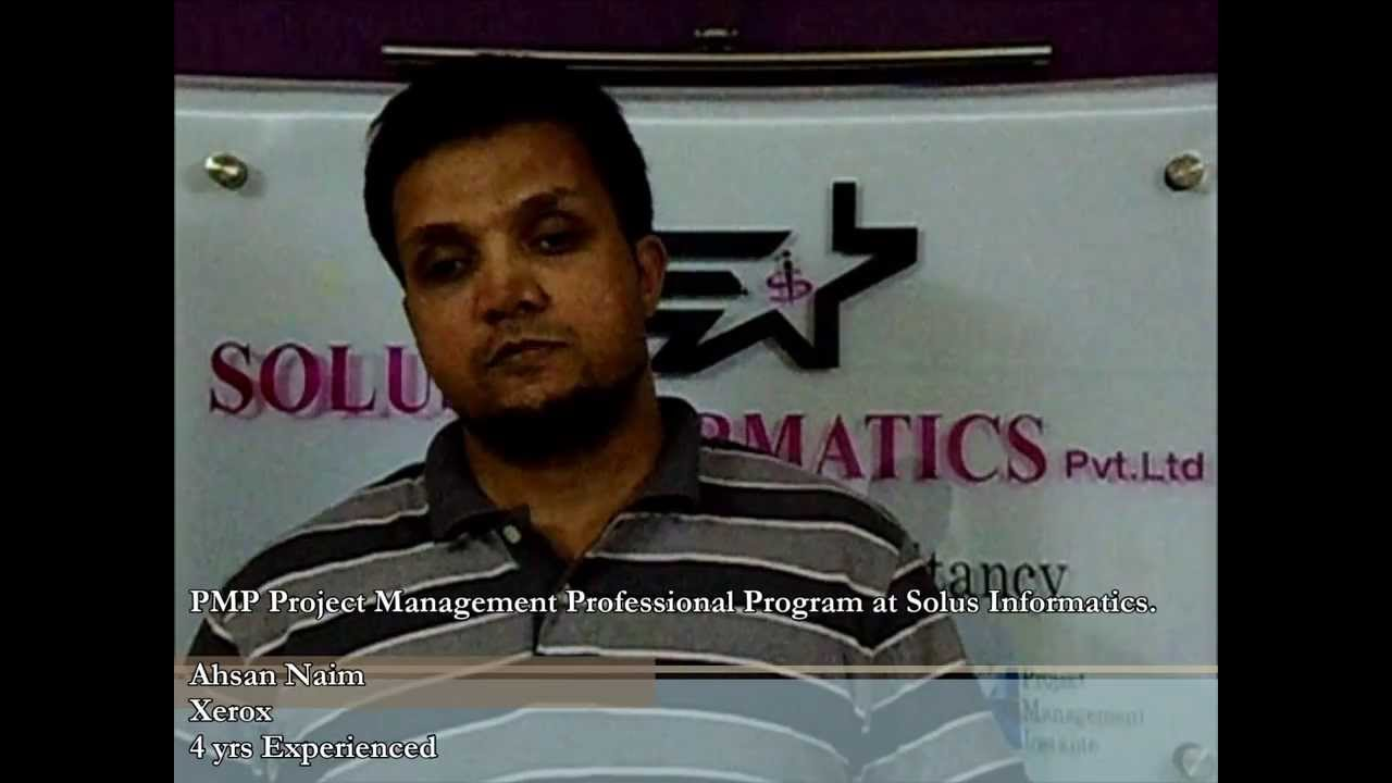 Pmp And Risk Management Certification Training In Hyderabad Youtube