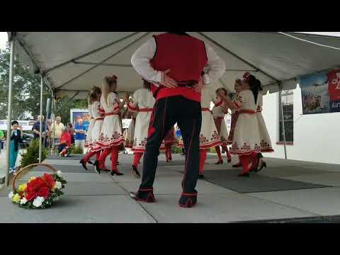 "Bulgarian folk group""Sharenitsa"" performance at Serb Fest 2018, North Port, Florida"