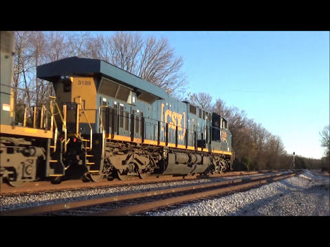Railfanning ft. both circus trains with matching-colored power and much more!! (Dec. 1-6, 2016)