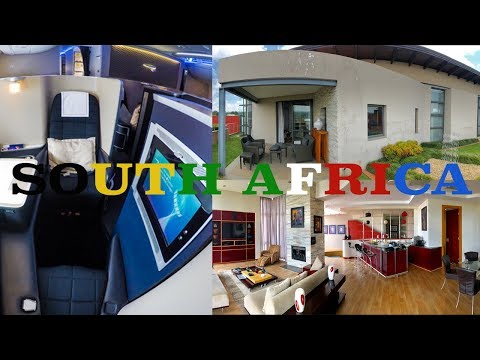 Traveling 1st Class to a Penthouse in South Africa!