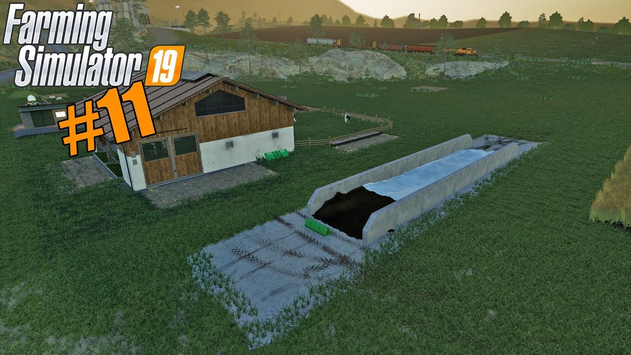 FS19 - Let's Play Ravenport #11 - Mowing & Silage Bunker