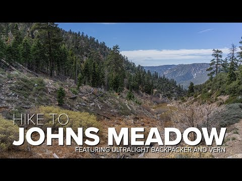 John's Meadow - Forsee Creek Trail | San Gorgonio Wilderness