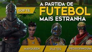 PLAYING FOOTBALL-SQUAD BRASIL-428 WINS (Fortnite Battle Royale free) [EN-BR]-Softe