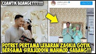 Gosip Artis Terbaru-POTRET PERTAMA❕ZASKIA GOTIK BERSAMA SIRAJUDIN SAAT LEBARAN-Berita Selebriti