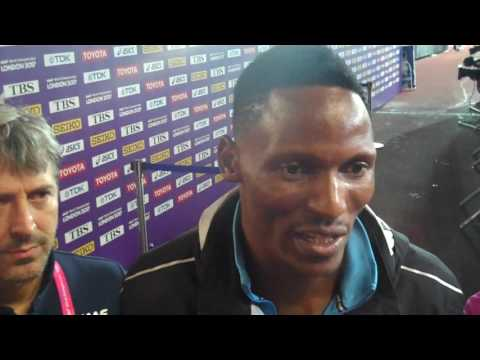 Isaac Makwala Makes 200m Final at Worlds After Special 200m Race