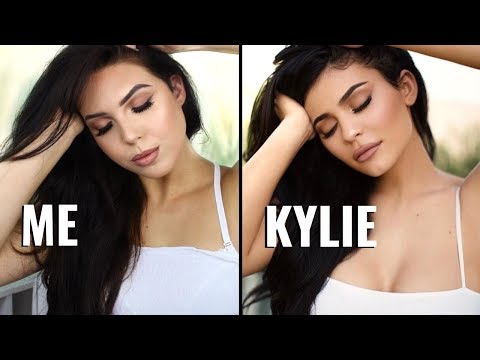 KYLIE JENNER NATURAL GLAM Makeup Tutorial – Recreating Kylie's Classic Instagram Glam Makeup | Faith